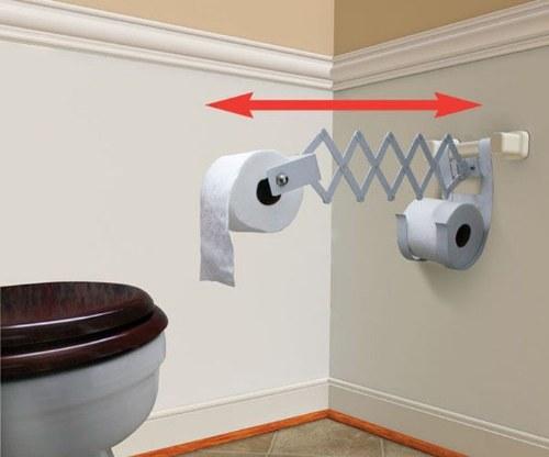 Tisu toilet dibuat untuk orang yang malas berjingkat