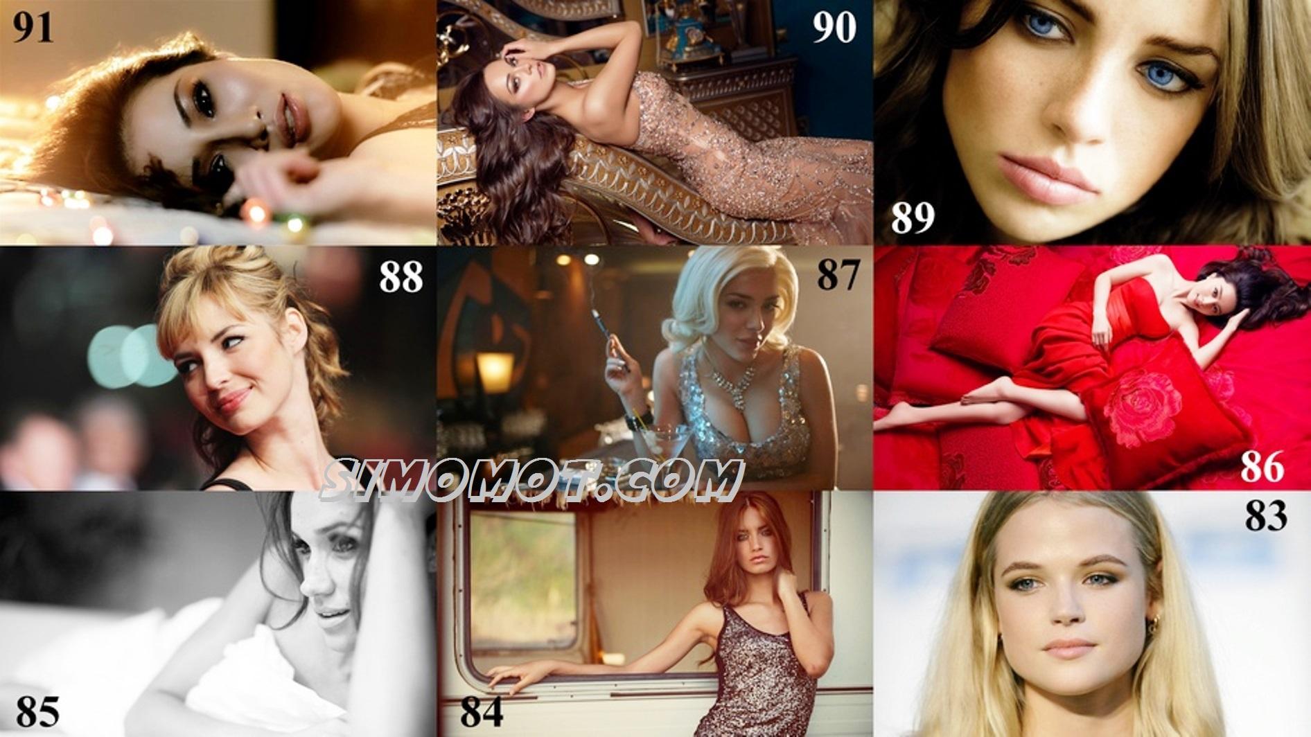 foto 100 wanita tercantik di dunia versi independent