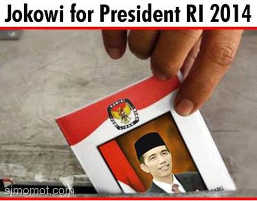 Gambar-gambar unik, lucu, dan kreatif seputar pencapresan Jokowi