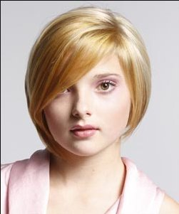 model rambut untuk wajah bulat Model rambut untuk muka bulat