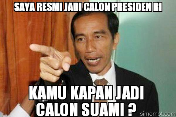 Tak Ada Lagi Black Campaign Jokowi Vs Prabowo Gambar Lucu