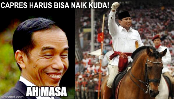 Kumpulan Meme Para Kandidat Capres