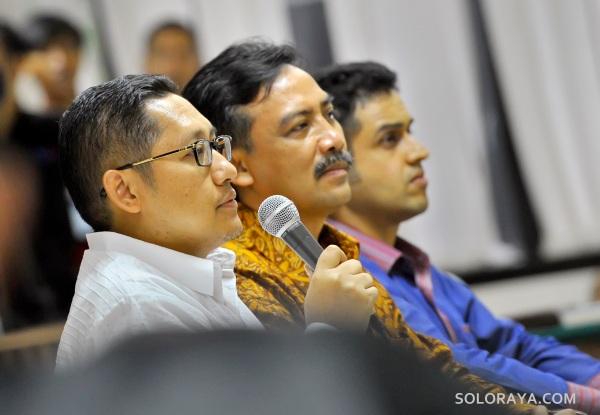 Inilah foto terbaru mantan Bendahara Demokrat Nazaruddin, mantan Menpora Andi Mallarangeng dan mantan Ketua Umum Partai Demokrat Anas Urbaningrum. ANTARA FOTO/Yudhi Mahatma