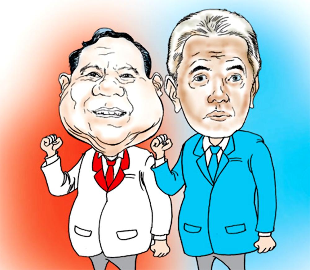 Koleksi gambar Prabowo – Hatta Rajasa ukuran sedang dan besar