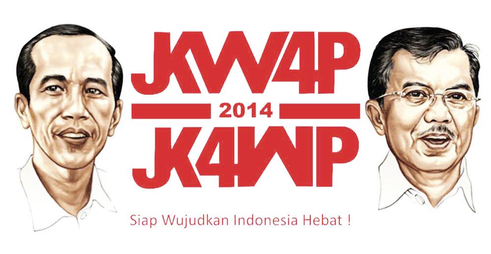 Koleksi gambar Jokowi – JK ukuran sedang dan besar
