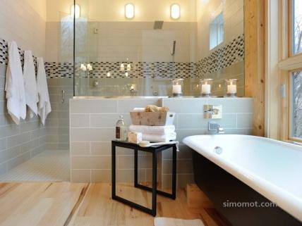 Lilin dan handuk - kombinasi bagus untuk menambah asri interior ruangan Anda