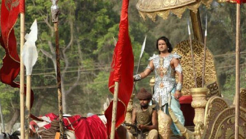 577 in Foto-foto Rohit Bharawaj, pemeran Yudistira di Mahabharata ANTV