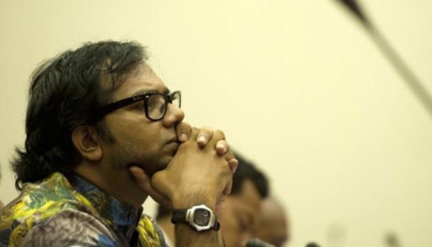 Koordinator Komisi Untuk Orang Hilang dan Korban Tindak Kekerasan (KontraS), Haris Azhar. (Tempo.co)