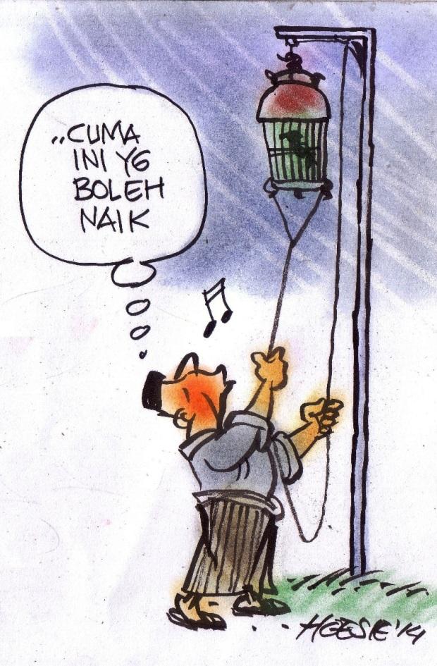 Kartun Kartun Romantika Puasa Ramadhan Si Momot