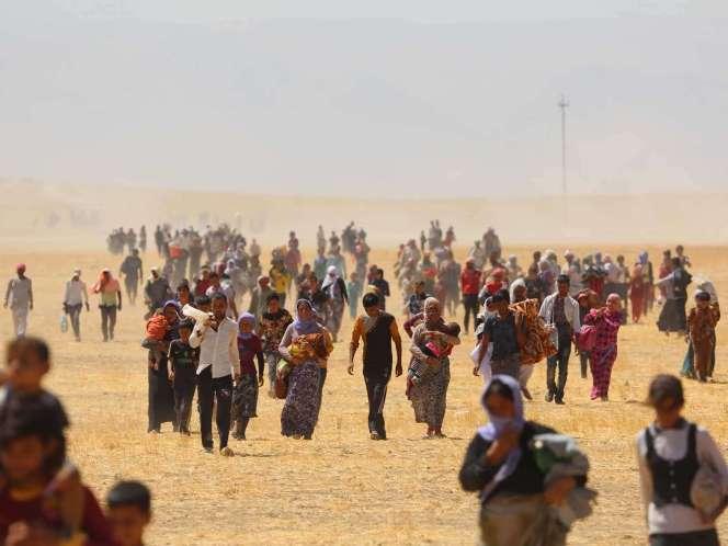 11/08/2014 664 × 498 in Foto-foto pengungsian Etnis Yazidi ...