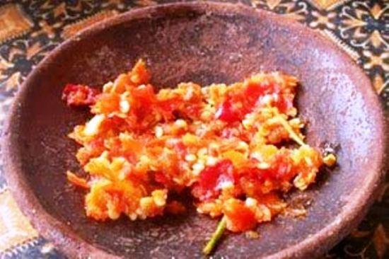 Resep aneka sambal