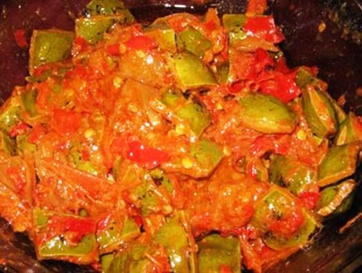 Resep sambal pete