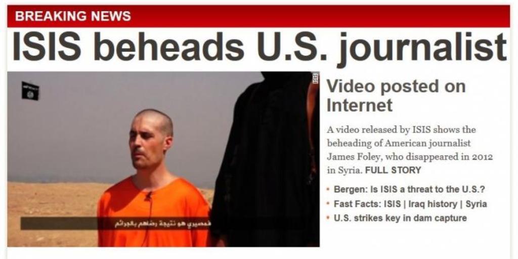 Video James Foley Wartawan Amerika Serikat Tewas Dipenggal ISIS