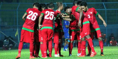 Indonesia Vs Maladewa 4-0, pastikan Garuda Muda lolos ke babak 16 besar Asian Games 2014