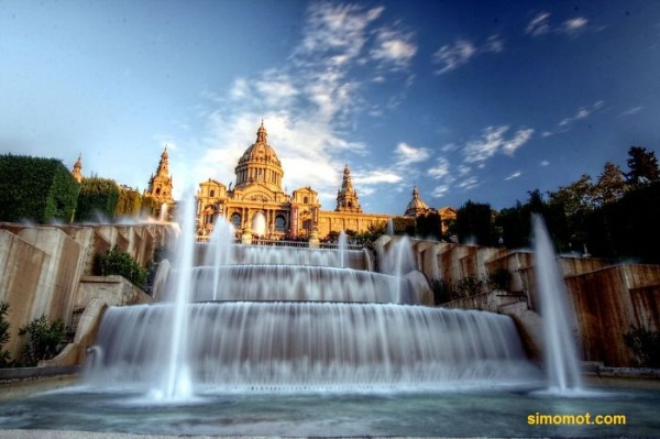 Magic Fountain, Barcelona, Spanyol