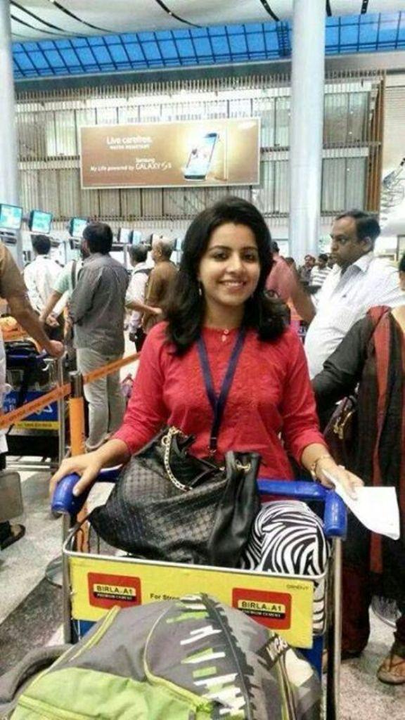 Polwan cantik dari India, Merin Joseph. (Facebook)