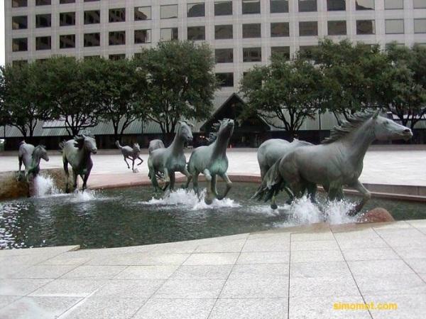 Mustangs, La Colinas, Texas, Amerika Serikat