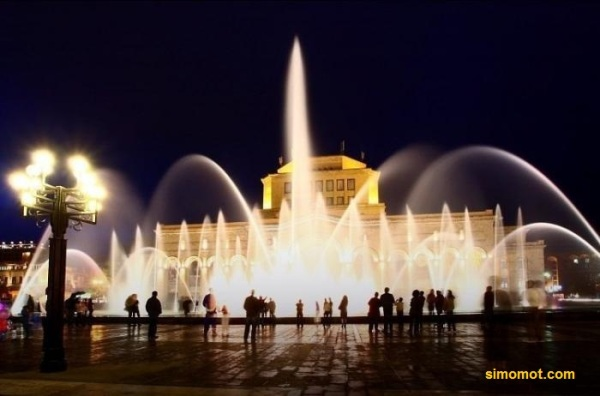 Singing Fountain, Republic Square