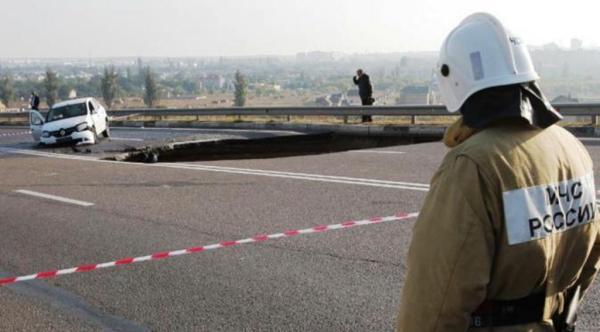 Sinkhole di Crimea telan 6 orang. (Reuters)