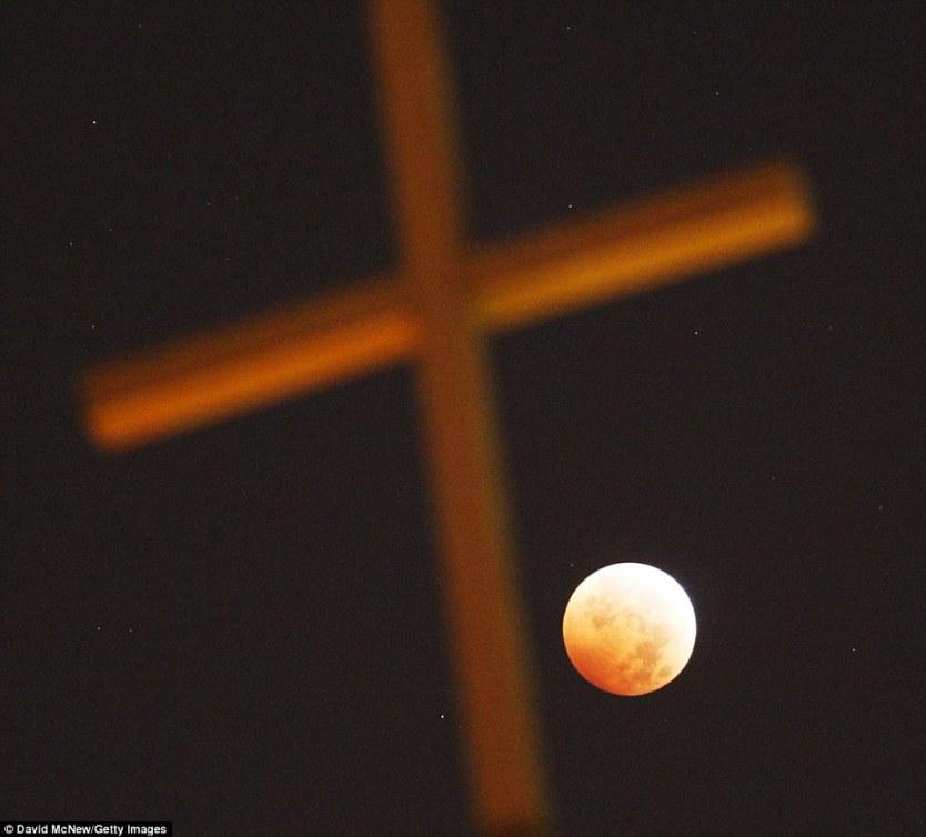 Gerhana Bulan Merah Total Los Angeles Amerika