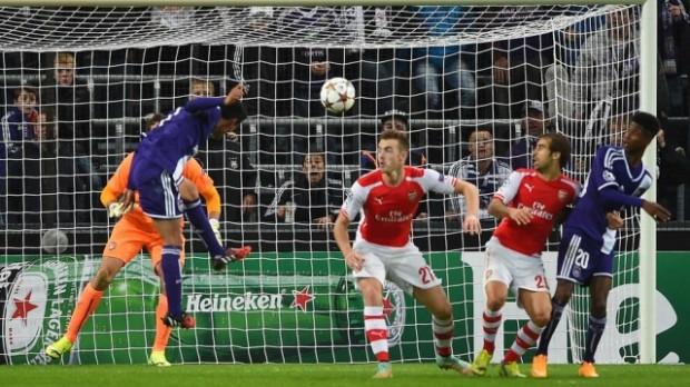 Hasil Liga Champion: Anderlecht vs Arsenal 1-2, Dini Hari Tadi Pagi
