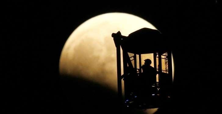 Gerhana Bulan Merah Total Tokyo Jepang