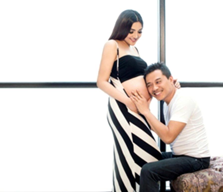 Ini foto-foto seksi Ashanty saat hamil
