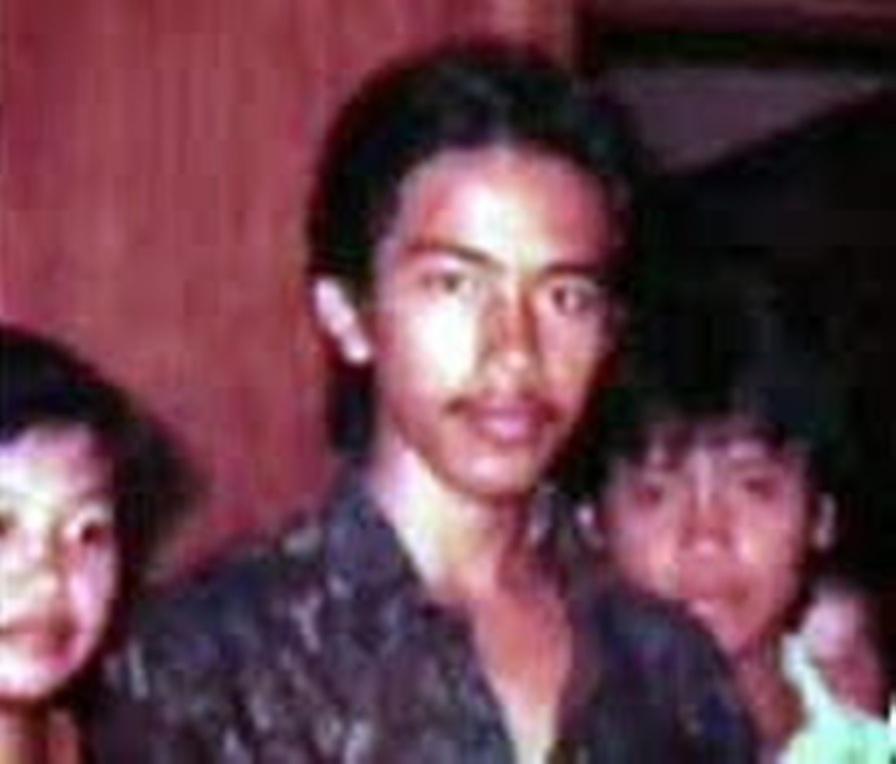 Jokowi berabut gondrong tanggung dan berkumis tipis. (AriePrastyo)