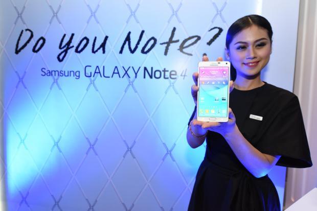 Harga Samsung Galaxy Note 4 Indonesia