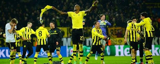 Borussia Dortmund V Malaga UEFA Champions League Quarter Final