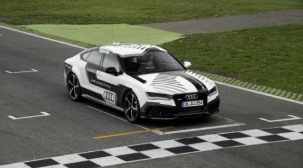 Mobil Tanpa Sopir Audi RS 7