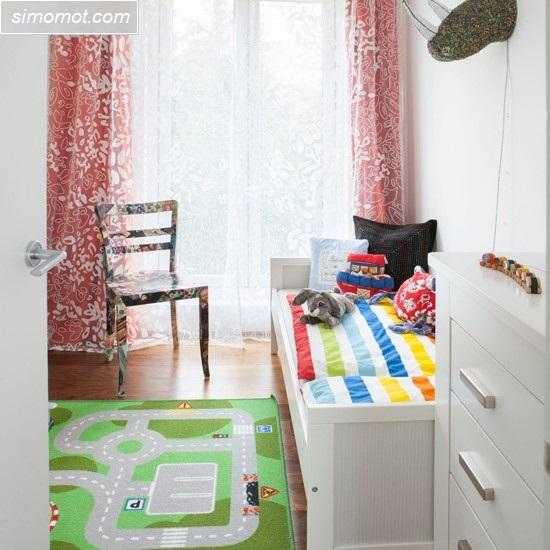 contoh gambar desain kamar tidur anak sederhana 4 si momot