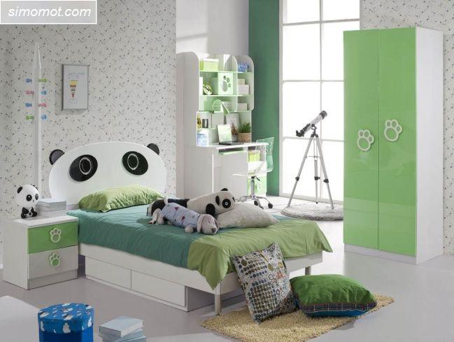 desain kamar tidur anak laki laki 3 si momot