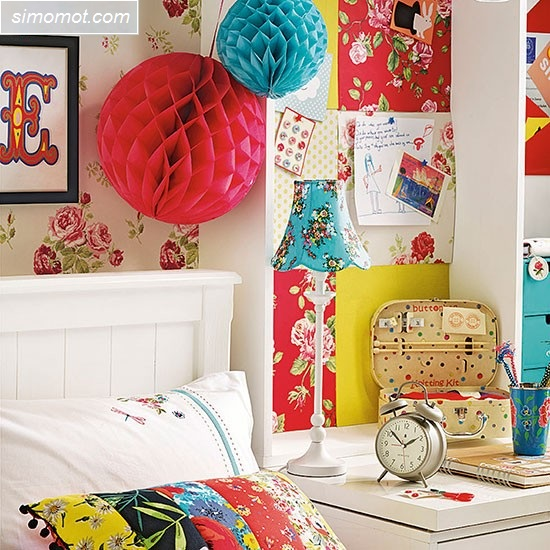 desain kamar tidur anak perempuan 8 si momot