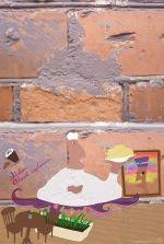 Kreatif dan cerdas, tembok-tembok rusak bisa disulap jadi lukisankeren