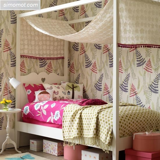 gambar desain interior kamar tidur anak 10 si momot