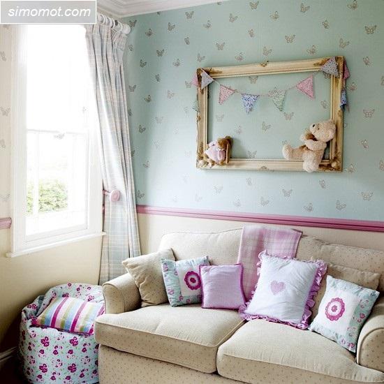 gambar desain interior kamar tidur anak 6 si momot