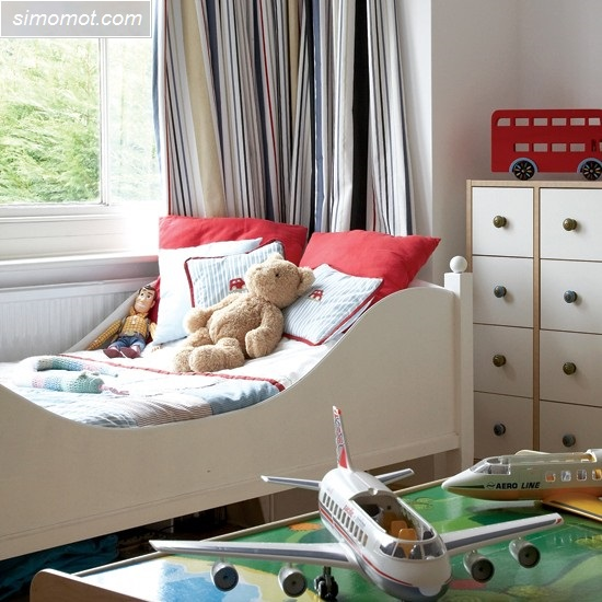 gambar desain interior kamar tidur anak rumah minimalis 3