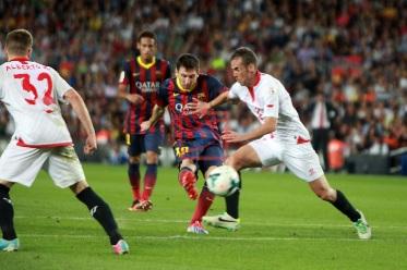 Jadwal dan prediksi Liga Spanyol 2014 Barcelona vs Sevilla