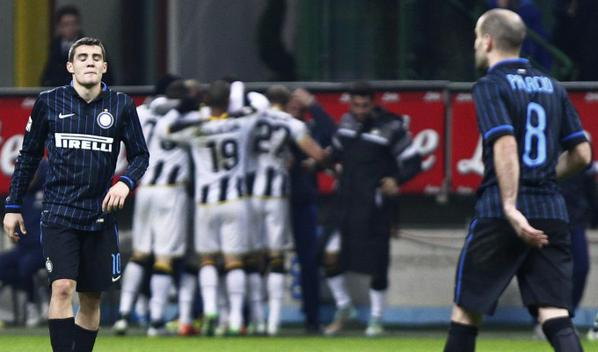 Hasil pertandingan Liga Italia 2014 tadi malam, antara Inter Milan vs ...