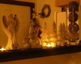 Foto contoh desain dan dekorasi pohon natal (13)