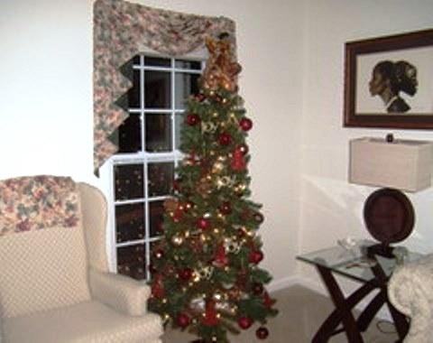 foto contoh desain dan dekorasi pohon natal 16 si momot