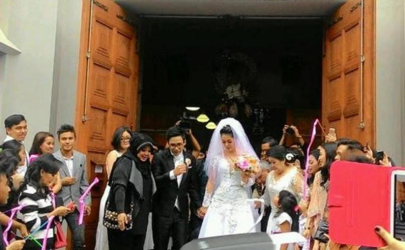 pernikahan gracia indri-david noah