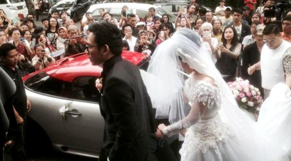 pernikahan gracia indri-davidnoah 6 liputan6.396