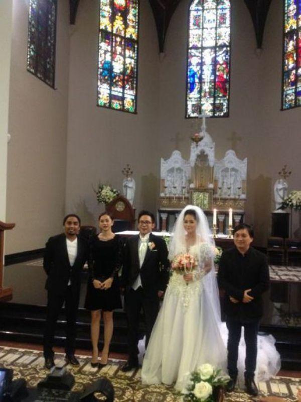 pernikahan gracia indri-davidnoah