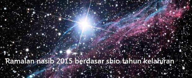 Ramalan nasib 2015 berdasar shio tahun kelahiran
