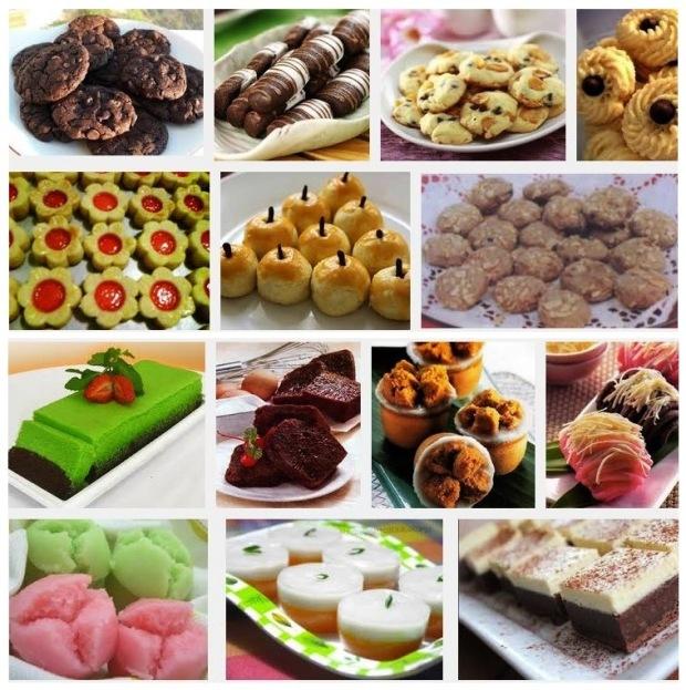 Daftar resep kue basah dan kue kering yang Si Momot sajikan di sini ...