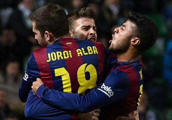 Hasil pertandingan liga spanyol 2015 elche vs barcelona, blaugrana