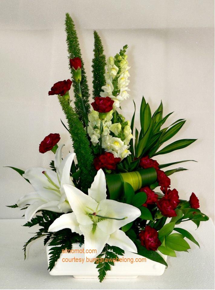 Contoh Gambar Rangkaian Bunga Segar Blogefeller