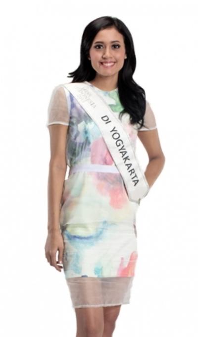 Miss Idonesia 2015, Maria Harfanti. (MissIndonesia)